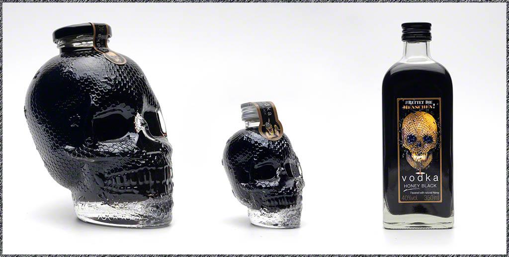 Vodka Honey Black - schwarzer Vodka mit Honig