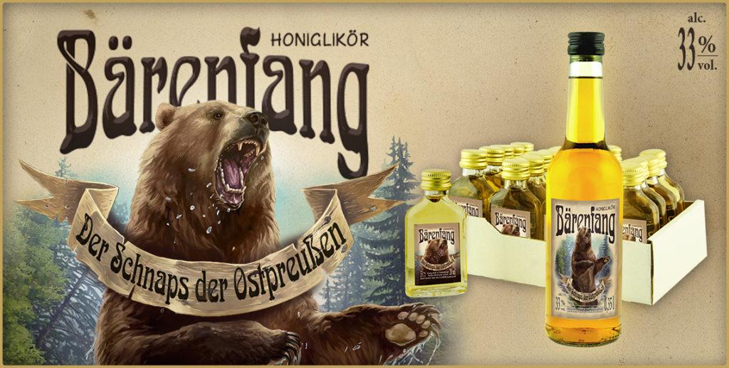 Bärenfang Honiglikör Honigschnaps